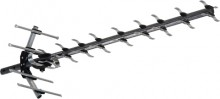 High performance UHF Yagi with inbuilt LTE filter to reject interference from Phone Towers