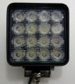 48 Watt Flood Beam Square Housing LED Work Light